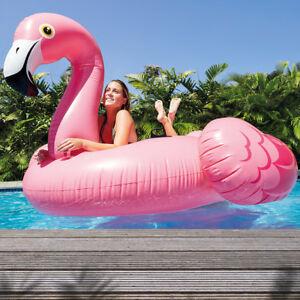 Intex Mega Flamingo Schwimmliege Pool Liege  Lounge Badeinsel Luftmatratze 57288