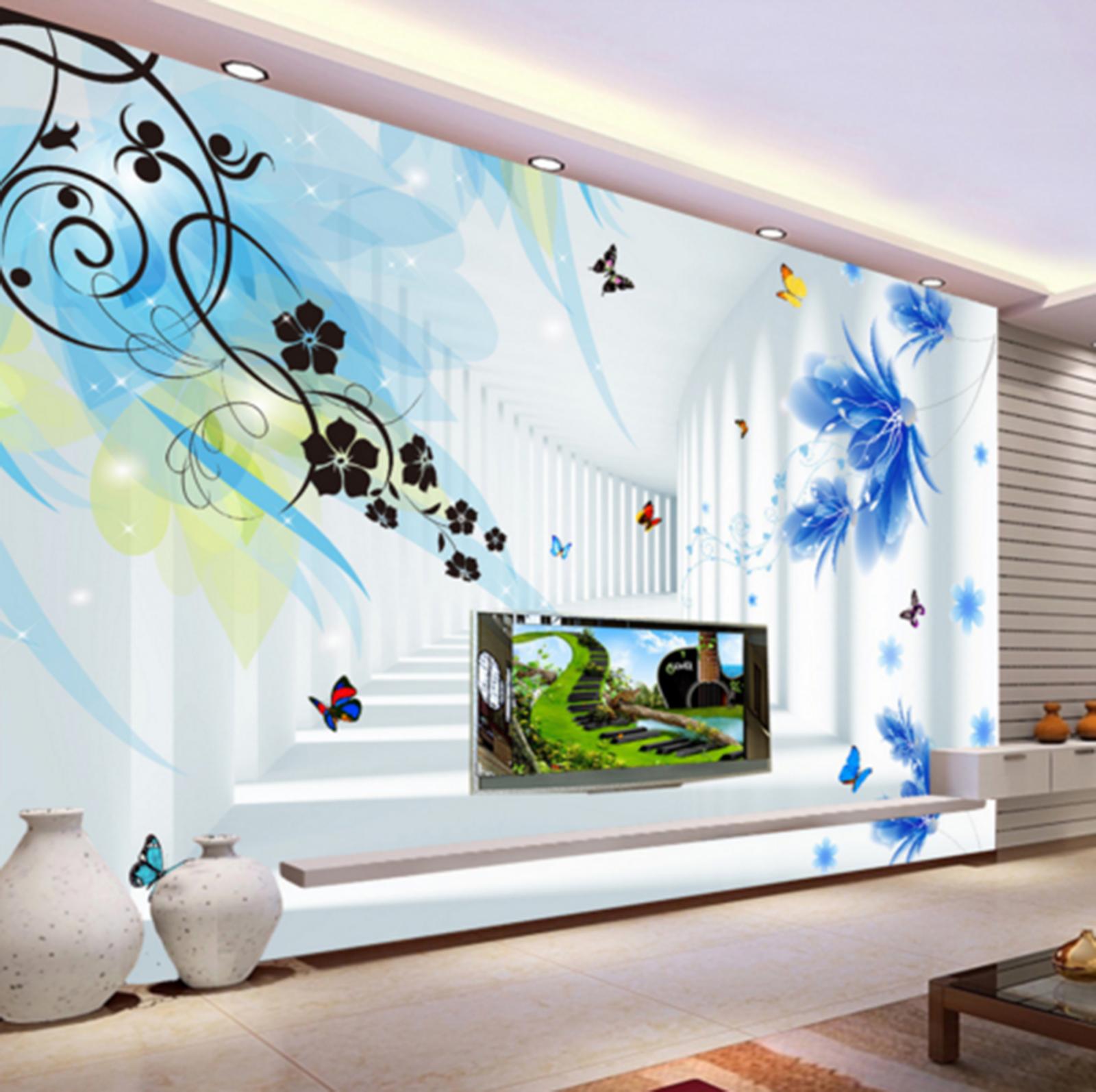 3D Infloresce 428 Wallpaper Murals Wall Print Wallpaper Mural AJ WALL UK Kyra