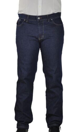 4100 Caballeros 5 Pocket Summer-Denim-jeans en talla extragrande con elástico federal Big Size