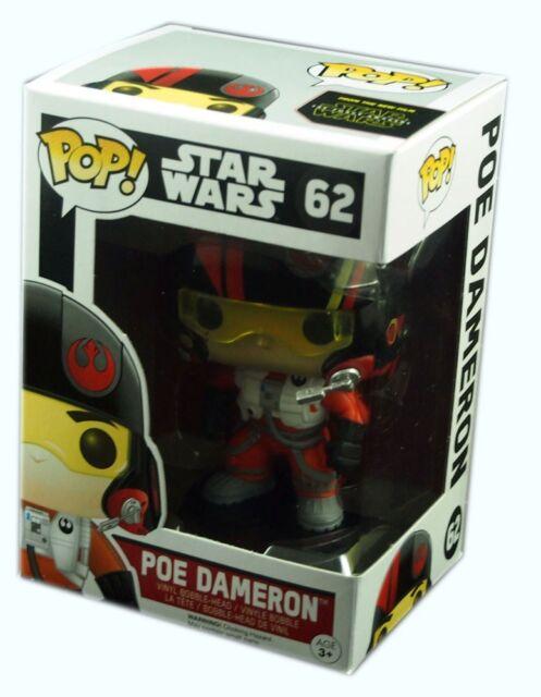 Funko POP #62, Star Wars episode VII, Poe Dameron Figure Bobble-Head