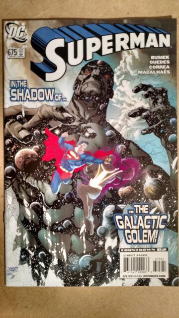 SUPERMAN #675 RENADO GUEDES VARIANT 1ST PRINT DC COMICS (2008)