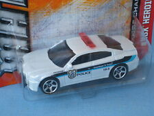 Matchbox Dodge Charger Police Car White City Police USA