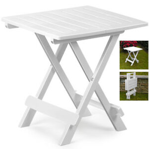 white outdoor side table. Image Is Loading Garden-Side-Table-Snack-Patio-Balcony-Outdoor-Coffee- White Outdoor Side Table
