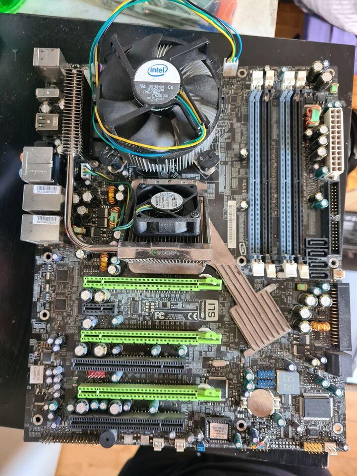 Bundkort & CPU, Blandet, God