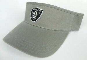 LAS-VEGAS-RAIDERS-DARK-GRAY-NFL-AMERICAN-NEEDLE-ANNCO-REPLICA-VISOR-CAP-HAT-NWT
