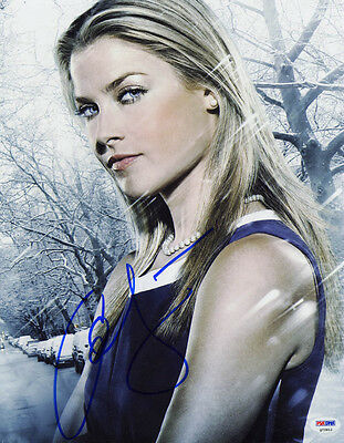Autographs-original Open-Minded Ali Larter Signed 11x14 Photo Niki Sanders Tracy Strauss Heroes Psa/dna