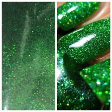 SB Green Holographic MERMAID EFFECT Nail Art Powder Glitter GEL & ACRYLIC 10g