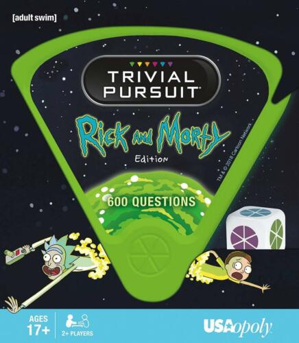 Rick and Morty Trivial Pursuit Collector/'s Edition collectible games