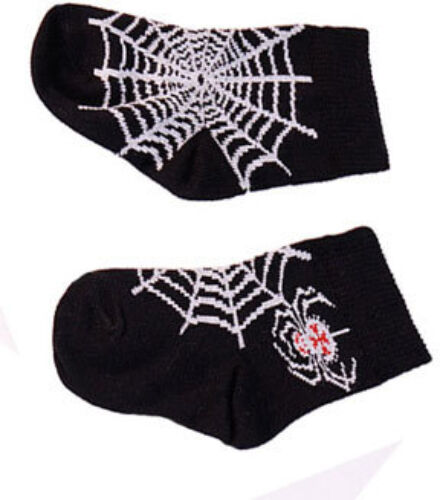 BLACK Spider Web BABY-Calze di Darkside