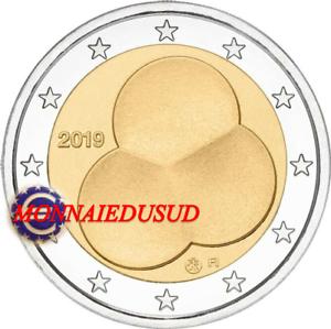 2-Euro-Commemorative-Finlande-2019-Constitution-Finlandaise-UNC-NEUVE