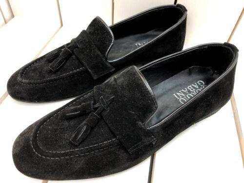 Nero Mocassini Mocassino in selvatica 41 pelle scarpe da Giorgio Slipper Gabani uomo EFqCU1