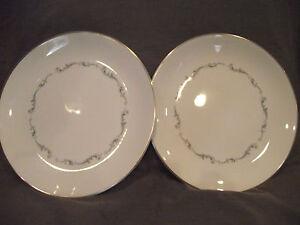 Set-of-2-Royal-Doulton-Coronet-Dinner-Plates