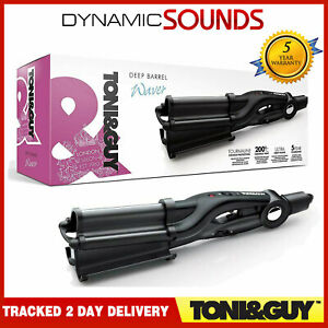 Toni-amp-Guy-Deep-Barrel-Tourmaline-Hair-Styler-32-mm-Waver-Black-TGIR1928UK