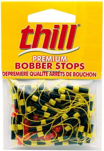 40 Thill Premium Bobber Stops Fluorescent Yellow