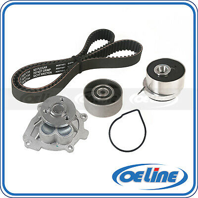 Timing Belt Water Pump Kit fits for 2012-2014 Chevrolet Cruze 2012-2013 Chevrolet Sonic 2009-2010 Pontiac G3 Aveo5 2009 Pontiac G3 Wave 2009-2011 Aveo 2008-2009 Saturn Astra 2009 Suzuki Swift+