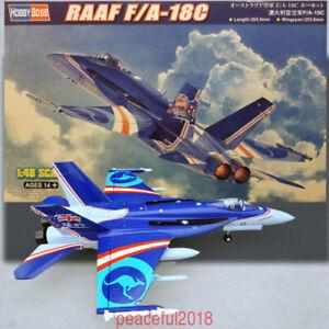 HOBBY-BOSS-1-48-85809-RAAF-F-A-18C-HORNET-MODEL-KIT-2019-New-Stock