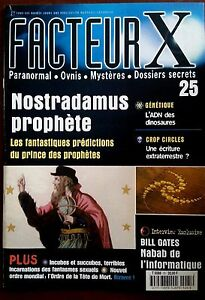 FACTEUR-X-n-25-Nostradamus-Prophete-ADN-des-dinosaures-Crop-Circles