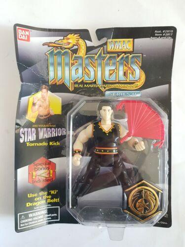 BANDAI Wmac Masters Real Artes Marciales Campeones Ho joven estrella Guerrero 1995 Pak