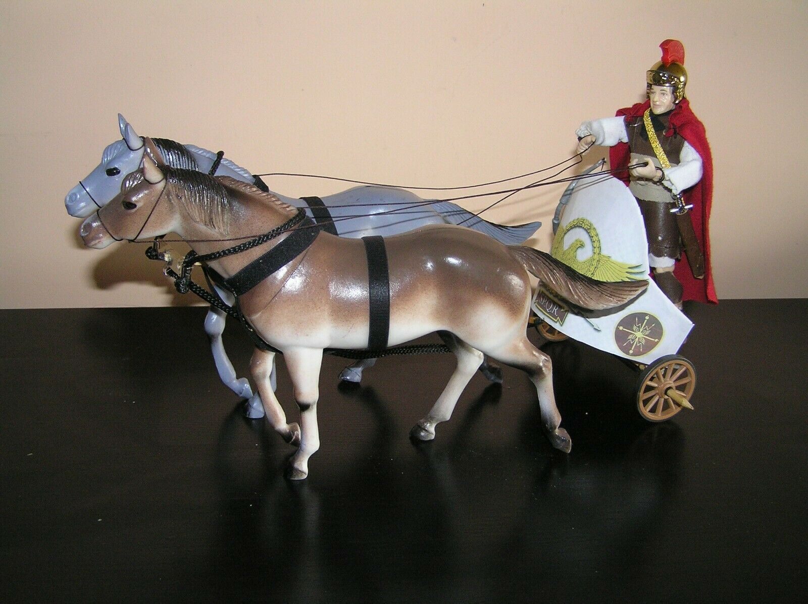 Madelman mde roman chariot with centurion