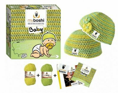 Myboshi Baby häkel-set kleinkindermützen incl lana ganchillo