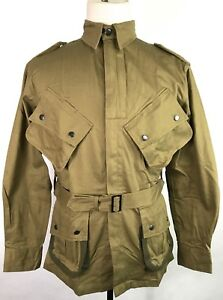 WWII-US-AIRBORNE-PARATROOPER-M1942-M42-REINFORCED-JUMP-JACKET-MEDIUM-LARGE