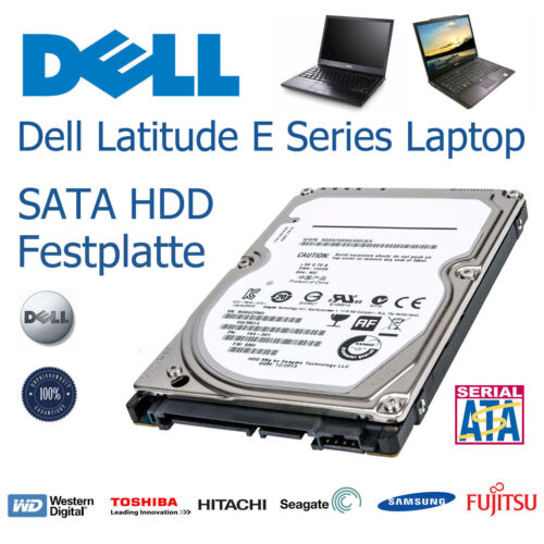 "160GB 2,5/"" SATA Laptop Festplatte für Dell Latitude E4310Harddisk HDD Upgrade"