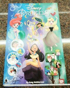 Disney-Princess-Poster-SIGNED-by-Amy-Ariel-Pocahontas-Aurora-Dark-Horse-Comics