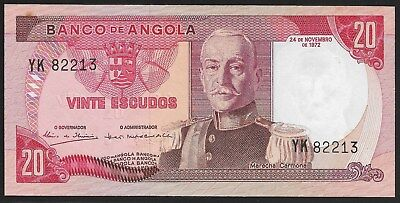 Angola 100 Escudos 1972 P 101 Marechal Carmona UNC Consecutive Numbers Available