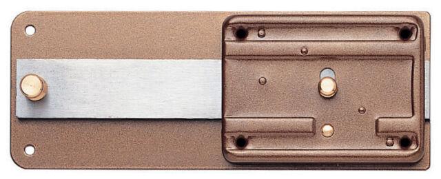 Iseo art 315 ferroglietto serratura da applicare per legno entrata 50 mm