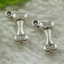 Free ship 180 pieces tibetan silver flower charms 11x6mm L-3716