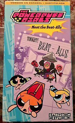 The Powerpuff Girls Meet The Beat Alls Vhs Spanish En Espanol Doblada 14764183336 Ebay