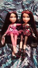 Bratz WORLD TWIINS PEYTON NEVAEH Rare Twins Bad & Good Goth doll Clothes Shoes