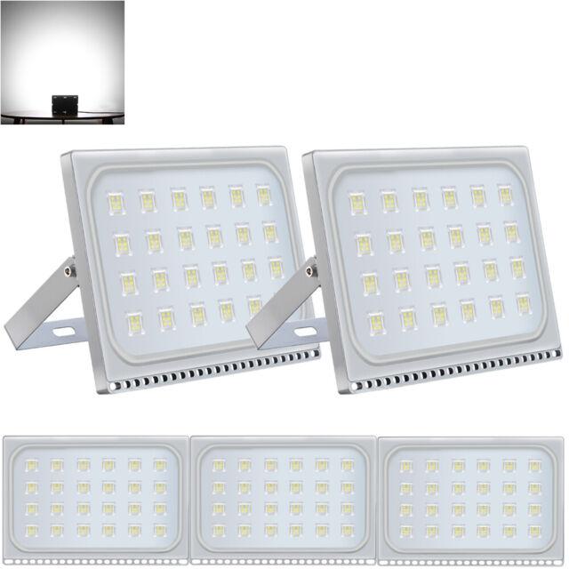 4x 150W LED Flood Light Cool White Outdoor Spotlight Garden Yard Lamp New IP67
