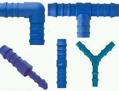 accesorios de manguera de nylon de carpintero Conector de reducción de Tefen