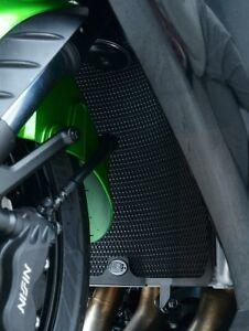Kawasaki-zzr1400-ZX-14-2013-r-amp-g-Racing-Radiator-Guard-rad0183ti-Titanium