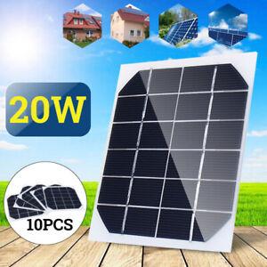 10Pcs-20W-6V-Mini-Solar-Panel-Cell-Power-Module-Battery-Toys-Charger-Light-2