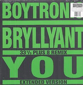 """BOYTRONIC Bryllyant 12"""" VINYL 4 Track 33 1/3 Plus 8 Remix B/w Us Remix, Trigge"""