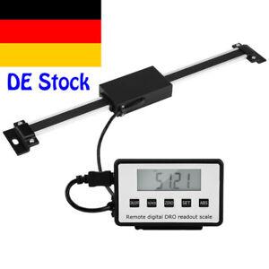 LCD-Digitalanzeige-Linearskala-Anbaumessschieber-Einbaumessschieber