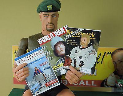1//6 Scale Magazines Set of 3 Custom GI Joe Magazine Covers