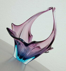 exklusive alte murano glas schale obst schale zipfelglas. Black Bedroom Furniture Sets. Home Design Ideas