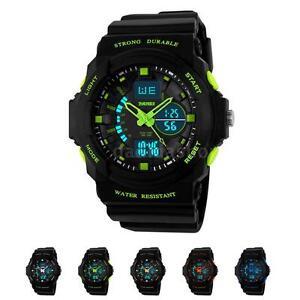 Kids-Boys-Digital-Sport-Watch-Mens-Date-Alarm-LED-Analog-Quartz-Waterproof-CA
