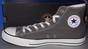 Details about CONVERSE CHUCK TAYLOR CT AS SEASNL HI CHARCOAL SIZE 13 MENS 15 WOMENS US