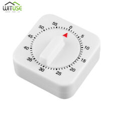 60 Minute Kitchen Timer Kettle Shape Mechanical Countdown Alarm Reminder Flaw