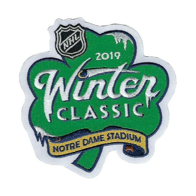 2019 NHL Winter Classic Jersey Patch Chicago Blackhawks Boston Bruins  OFFICIAL 7a873347e
