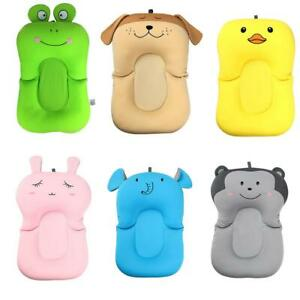 Cartoon-Portable-Baby-Non-Slip-Bath-Tub-Newborn-Air-Cushion-Bed-Shower-Pad