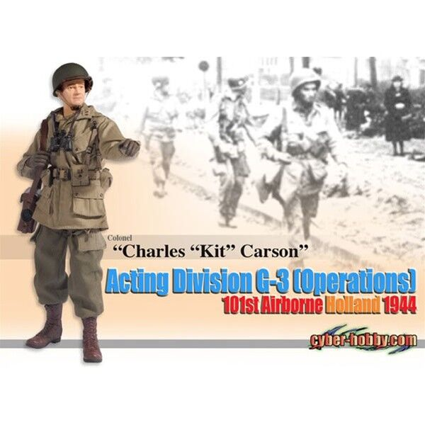 Dragon Cyber-Hobby 1 6 scale 12  WWII US Charles Kit Carson Action Figure 70694