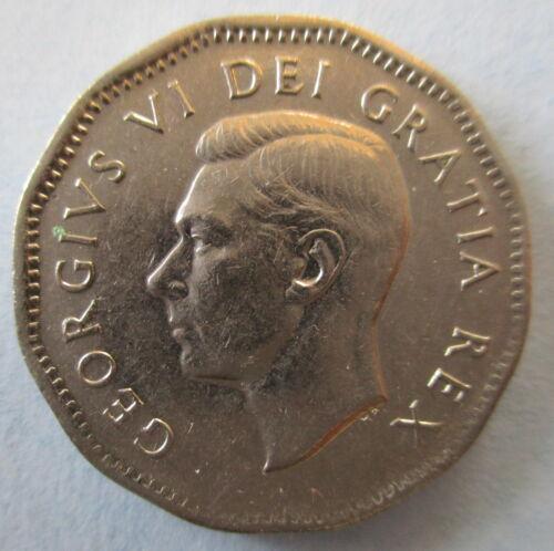 1951 CANADA COMMEMORATIVE REFINERY 5¢ NICKEL COIN