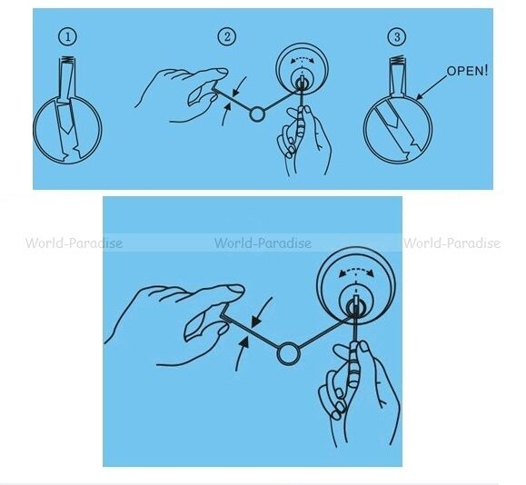 lockpicking spring tension tools lockpick unlocking opener locksmith crochetage