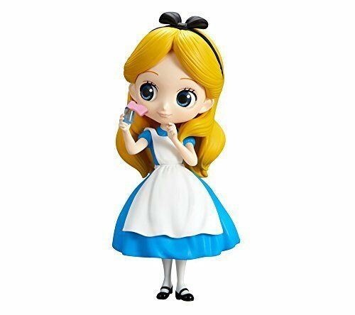 Q posket Disney Characters Alice Thinking Time Alice normal color Figure Qposket