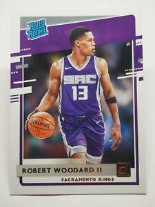 Panini Donruss 2020-21 N4 NBA Robert Woodard Rated Rookie #219 Sacramento Kings